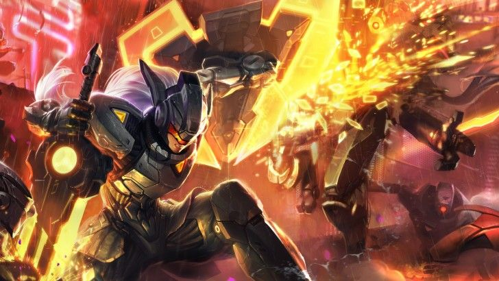 Download Project Leona Skin 2560x1440 The Clash At Godhelm