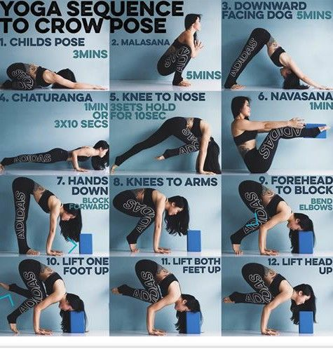 yoga crow pose  yoga poses yoga sequences yoga