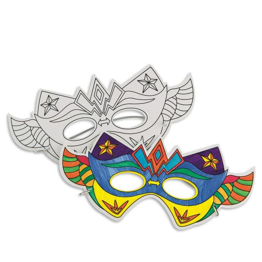 Half Masks To Decorate Glamorous Super Hero Masks For Vbs 2017 Theme  Religious Crafts & Vbs Inspiration
