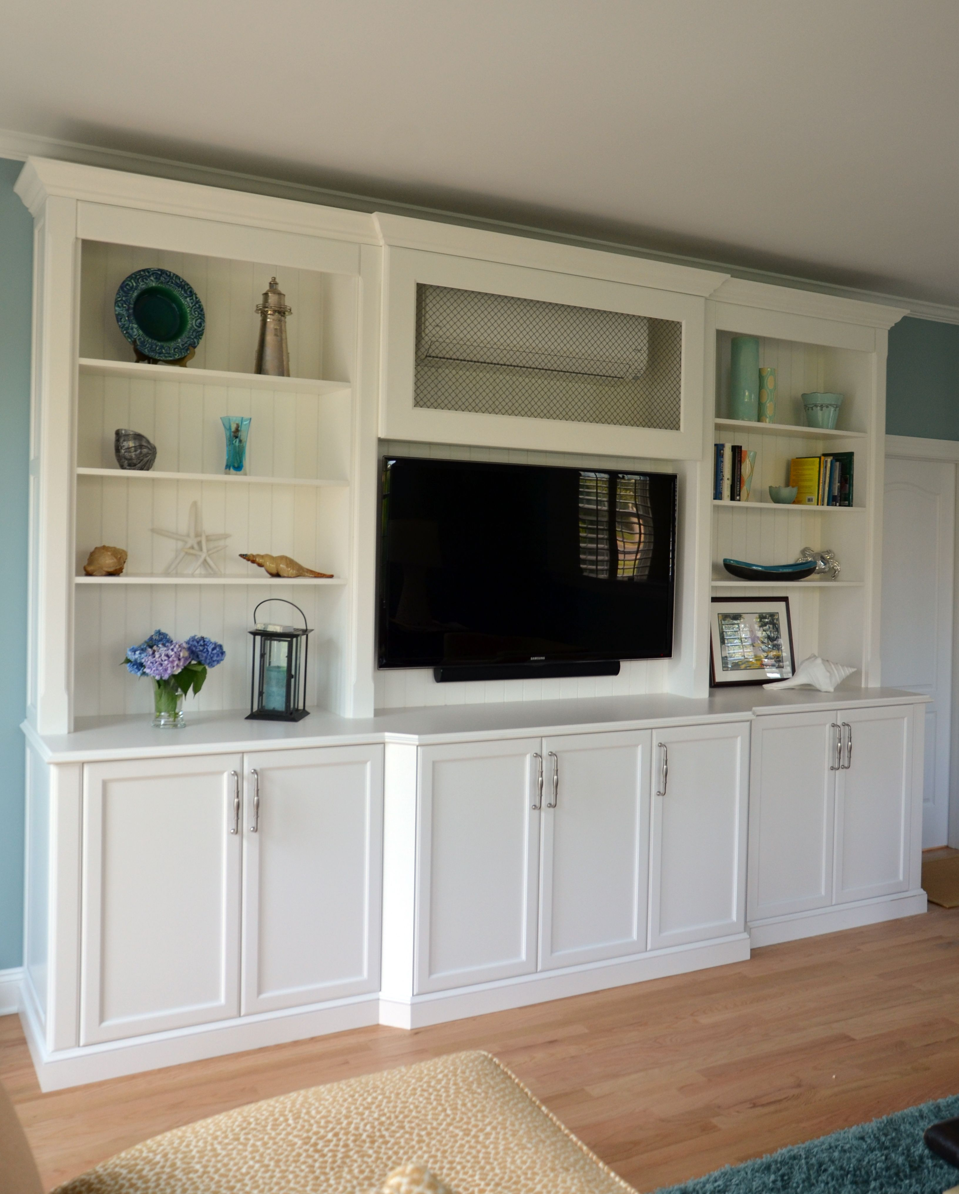 Custom Entertainment Center Wall New Jersey by Design Line