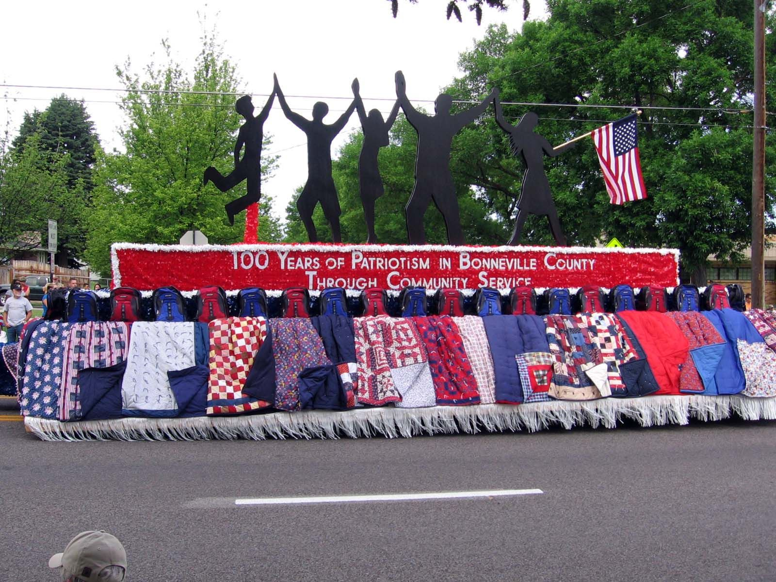 this year s idaho falls 4th of parade 100 years of this year s idaho falls 4th of parade 100 years of patriotism in bonneville county had almost 100 entries description from bobbispad blog