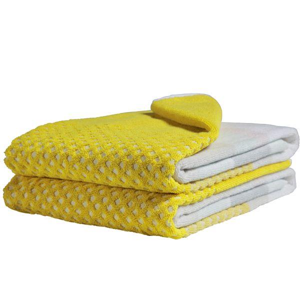 S&B kylpypyyhe, keltainen