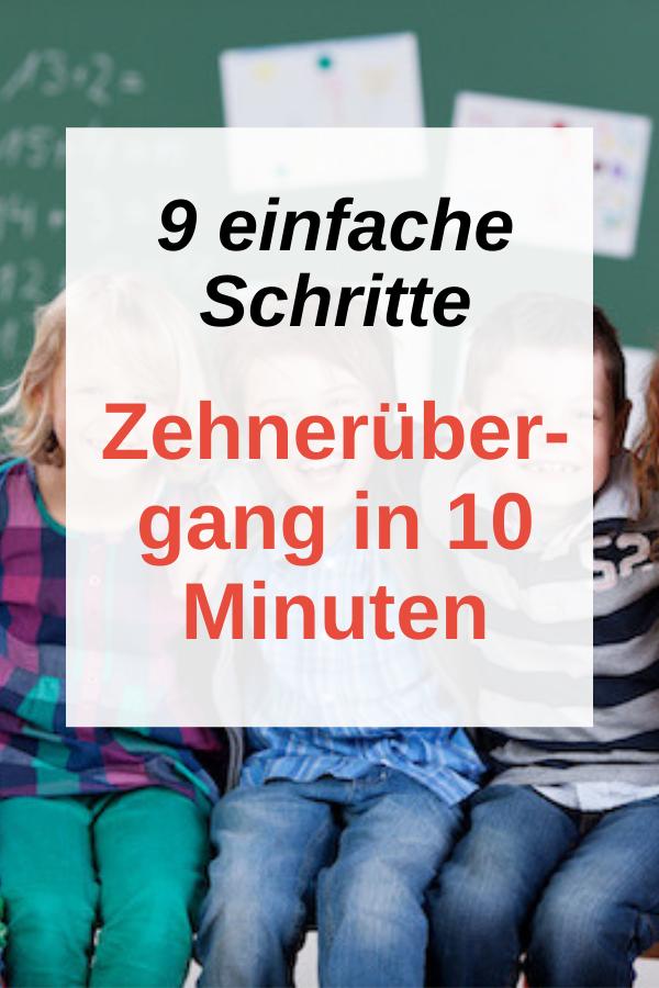 Herausforderung Zehnerübergang? Der Zehnerübergang Plus ind 10 Minuten mit Hilfe dieser 9 Schritte lernen. Für ein  fundiertes Mengenverständnis von Anfang an. Hausaufgaben und Lernen in  der Grundschule ohne Stress. Rechnen lernen. Lernmotivation. Lernen  Tipps. Hausaufgaben. Mathe 1.Klasse. Mathe Grundschule. Rechnen lernen   1.Klasse. Rechnen bis 20. Dyskalkulie. Rechenschwäche vermeiden. #rechnenlernen #grundschule #rechenschwäche #math
