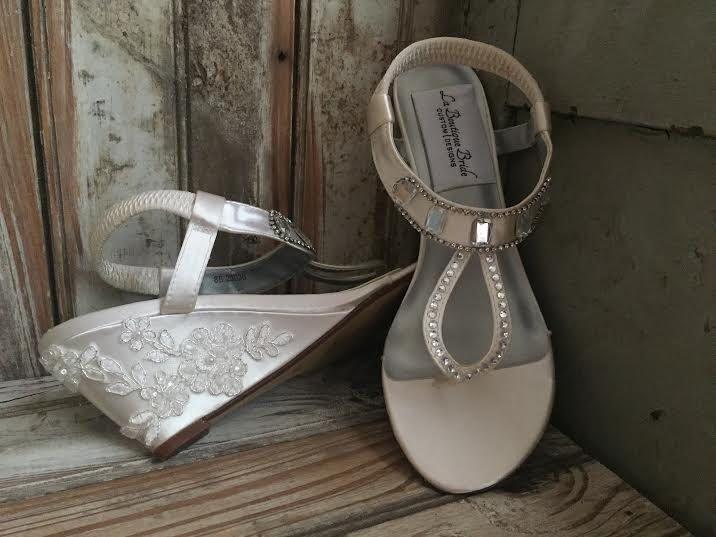 Destination Wedding Sandal Beach Wedding Shoe Bridal Sandal ...