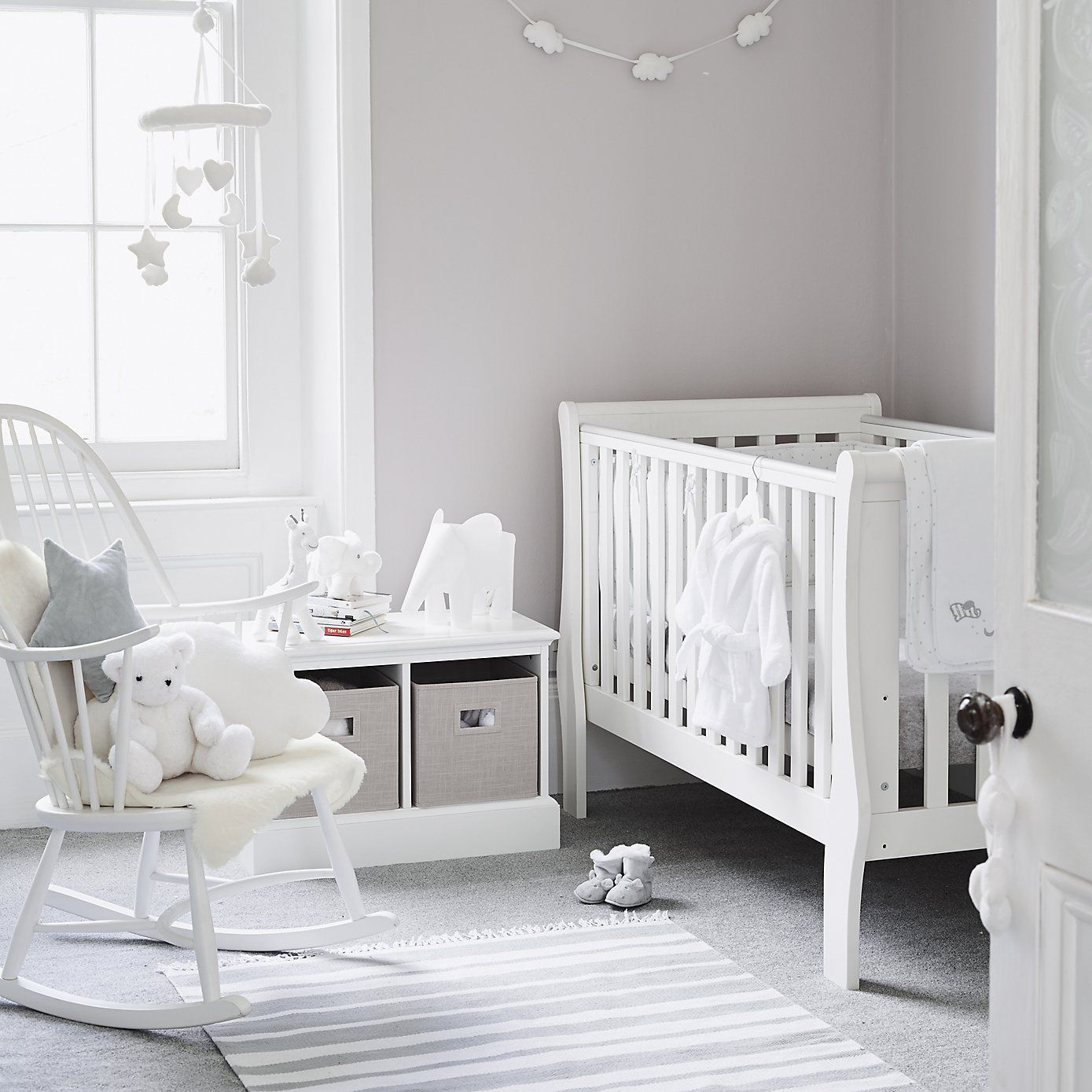 Chambre Bebe Pin Indy Elephant Light Neutral Nursery Pinterest Bebe