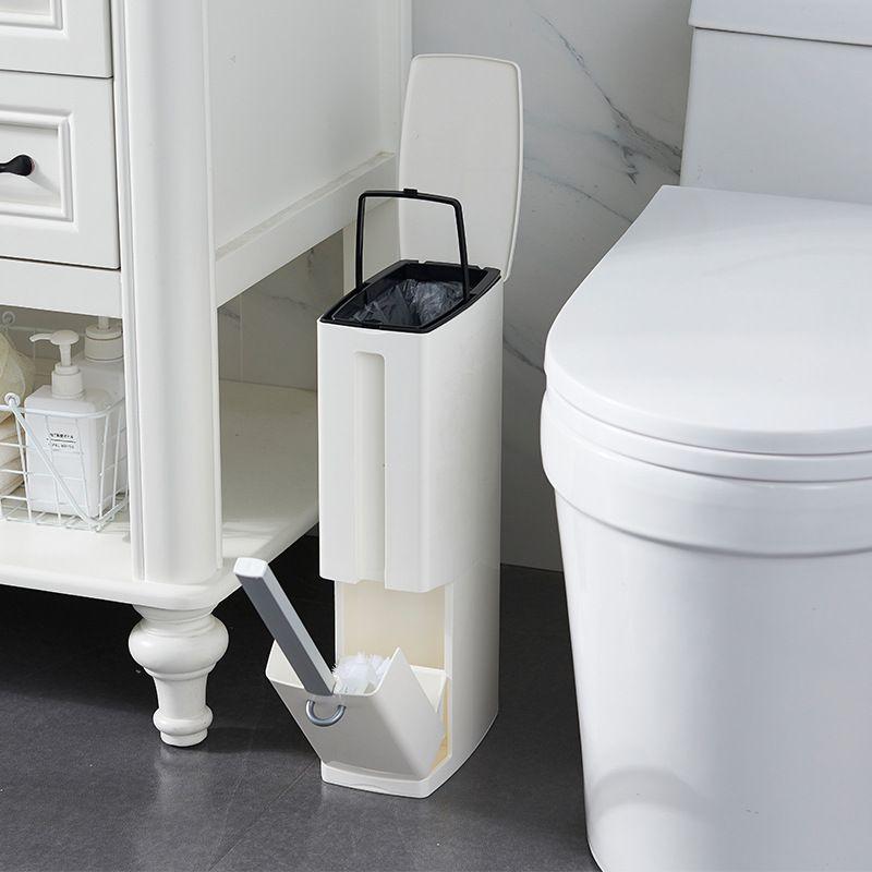 Home Bathroom Waste Bins Bathroom Trash Can Toilet Brush