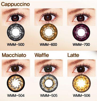 Geo Cafe Mimi Macchiato Brown Natural Contact Lenses Cosmetic Contact Lenses Circle Lenses