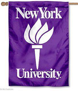 NYU Violets New York University Large College Flag