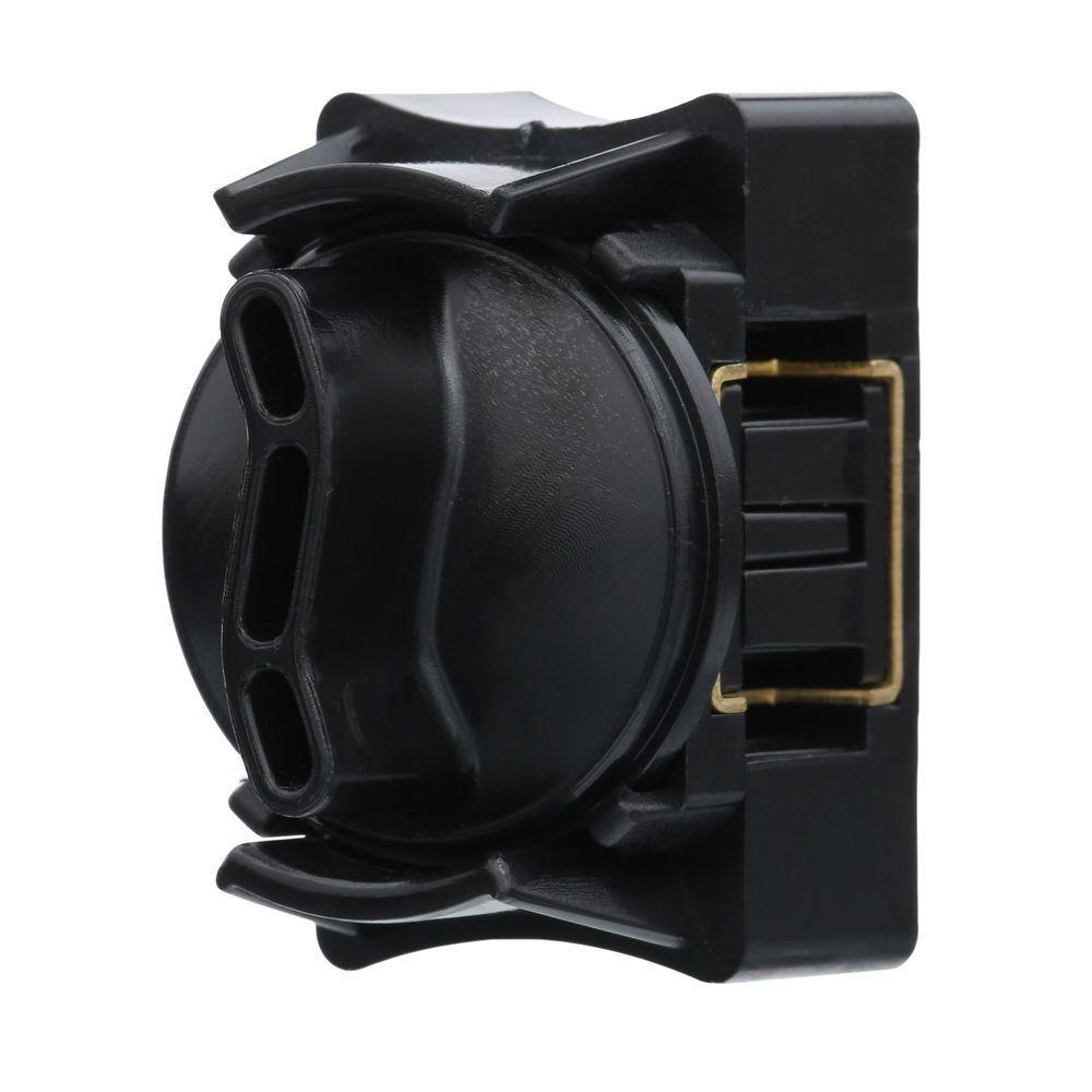 Low Voltage Transformer Home Depot Endearing Hampton Bay Lowvoltage Black Cable Splice Connector  Backyard Design Ideas