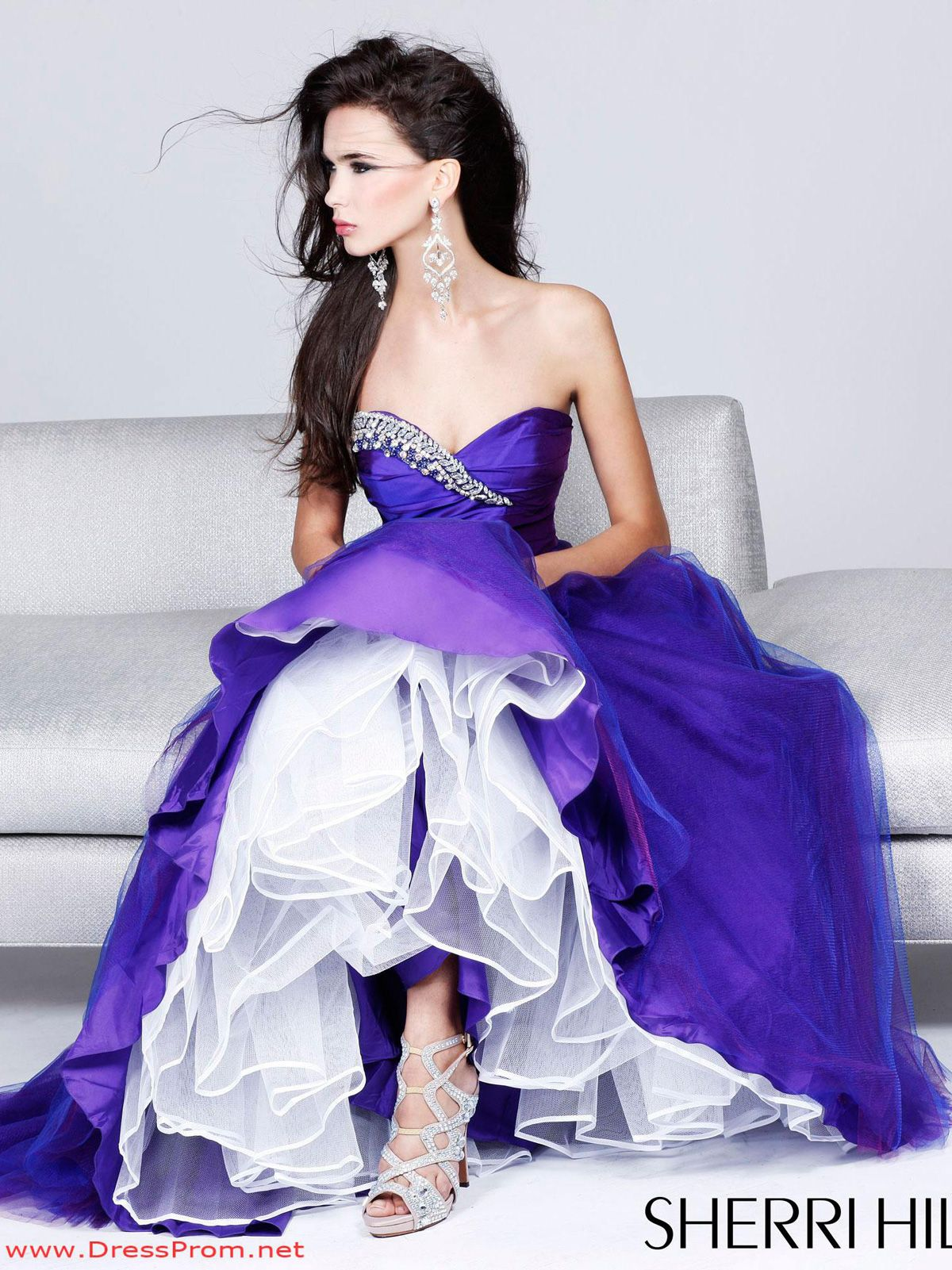 An amazing combination of attitude and elegance, this Sherri Hill ...