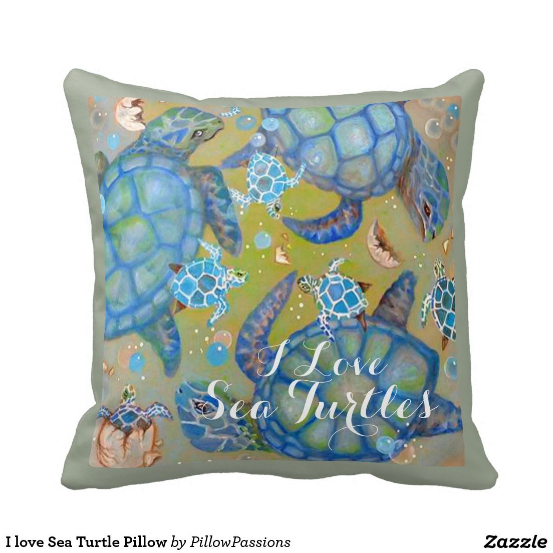 I love sea turtle pillow turtle pillows and pillow design