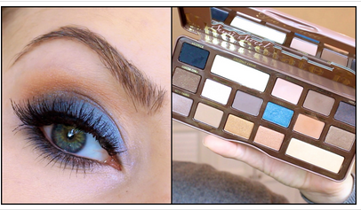What a fab tutorial to follow to get this really pretty look using too faced semi-sweet-chocolate-bar-makeup-palette.x Click the link below to see this fab tutorial by MakeupByTiffanyD http://liveforthelook.com/a-makeup-tutorial-using-semi-sweet-chocolate-bar-makeup-palette/