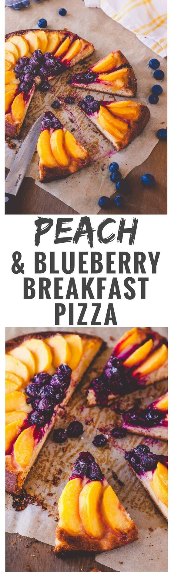 and Blueberry Brioche Tart Looking for a decadent weekend breakfast treat? Then this peach and blueberry breakfast pizza recipe might just fit the bill.Looking for a decadent weekend breakfast treat? Then this peach and blueberry breakfast pizza recipe might just fit the bill.