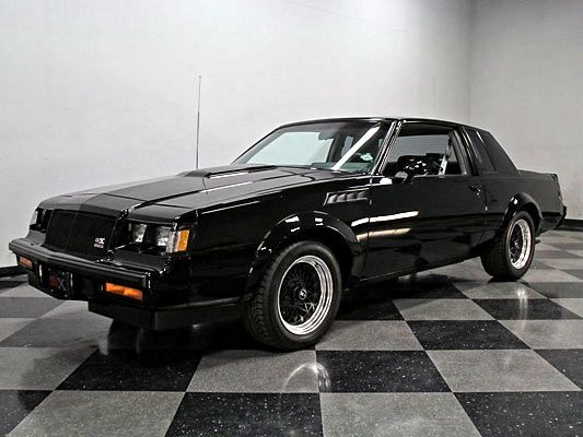 Ultra Rare 1987 Buick Grand National Gnx 73 Of Only 547 Muscle Car Buick Grand National Gnx 1987 Buick Grand National Grand National Gnx