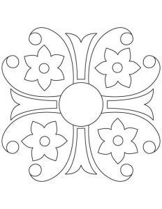 Mandala Coloring Pages Pdf 1 Coloring Pages And Outlines