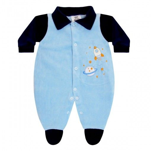 2ae2afe29 Macacão para Enxoval Bebê Menino Foguete :: 764 Kids Loja Online, Roupa  bebê e