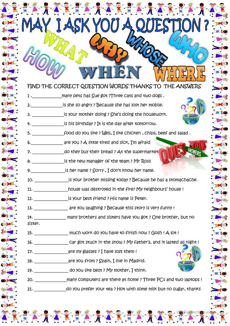 question words new practice worksheet free esl printable worksheets made by teachers super. Black Bedroom Furniture Sets. Home Design Ideas