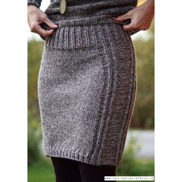 perfect [ k n i t ] for fall  yarnkit  www.min-design-strikk.no  #mindesignstrikk_skjørt #mindesignstrikk #høststrikk #strikkemote #motestrikk #strikketrend #skjørt #strikkeskjørt #inspirasjon #høst  #allers #kamillenorge #trend #trendsetter #knitting #knit #knittersofinstagram #knitwear #knitforfall #fashion #skirt #knittedskirt #webshop