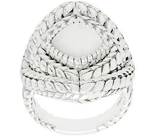 8e44ddab9fcd0 Tiffany & Co. Kay Studio Sterling Textured Gemstone Ring | Products ...