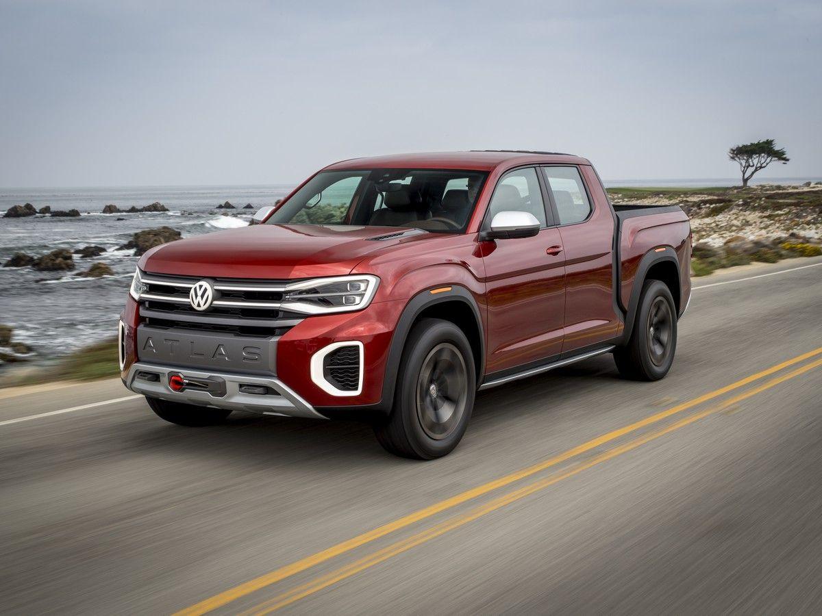 Volkswagen Atlas Tanoak and Atlas Cross Sport Concept