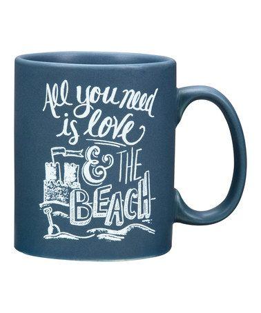 Look at this #zulilyfind! 'The Beach' Mug by Primitives by Kathy #zulilyfinds