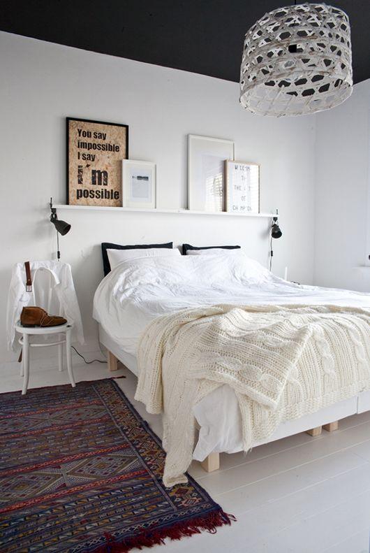 El piso de la semana 100 de estilo n rdico y mucho estilo home pinterest bedroom - Cabecero estilo escandinavo ...