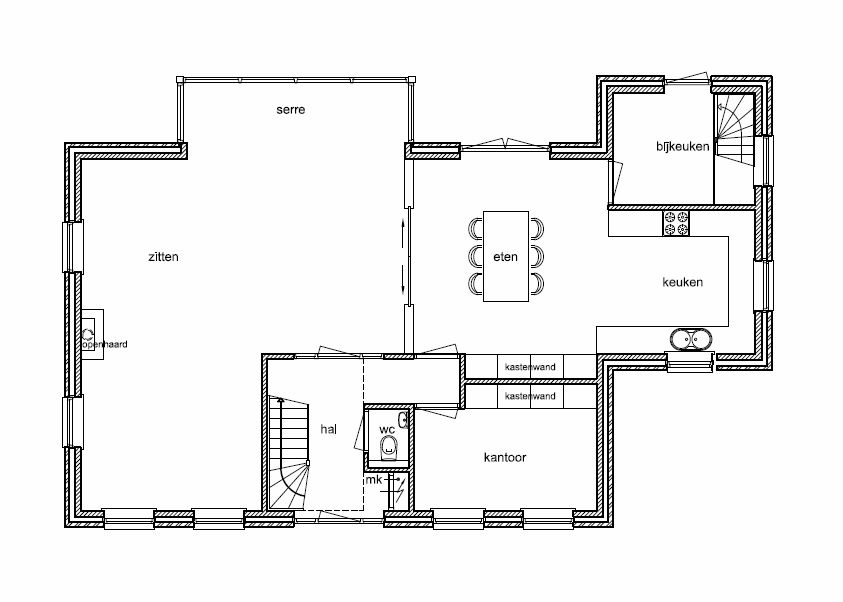 Notariswoning bouwen bing images our new house for Ontwerp plattegrond