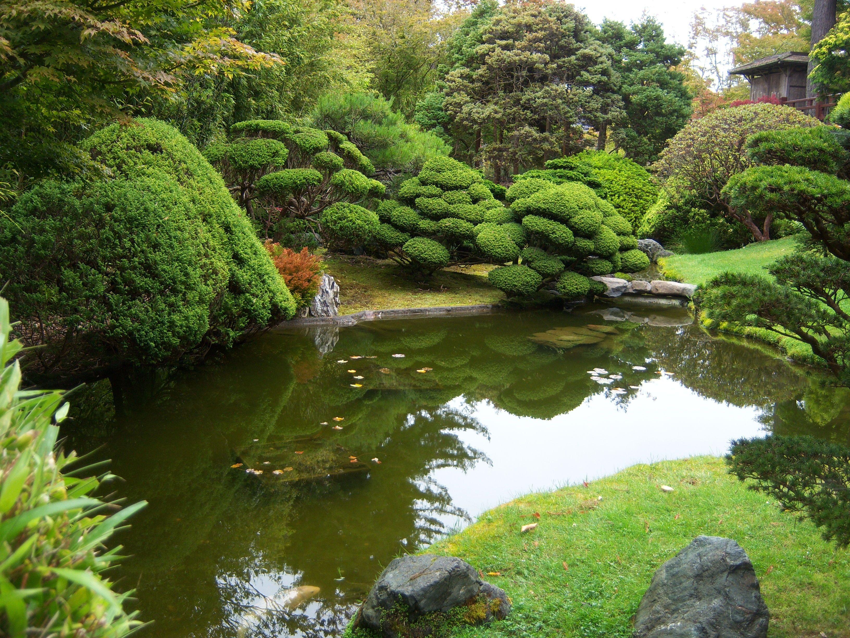 Japanese Tea Gardens in Golden Gate Park, San Francisco