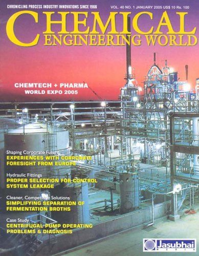 Chemical engineering world technical journal for and processing industry also best process images on pinterest industrial rh