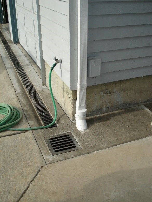 Image Result For Drainage Pitch Strips Backyard Drainage Drains Driveway