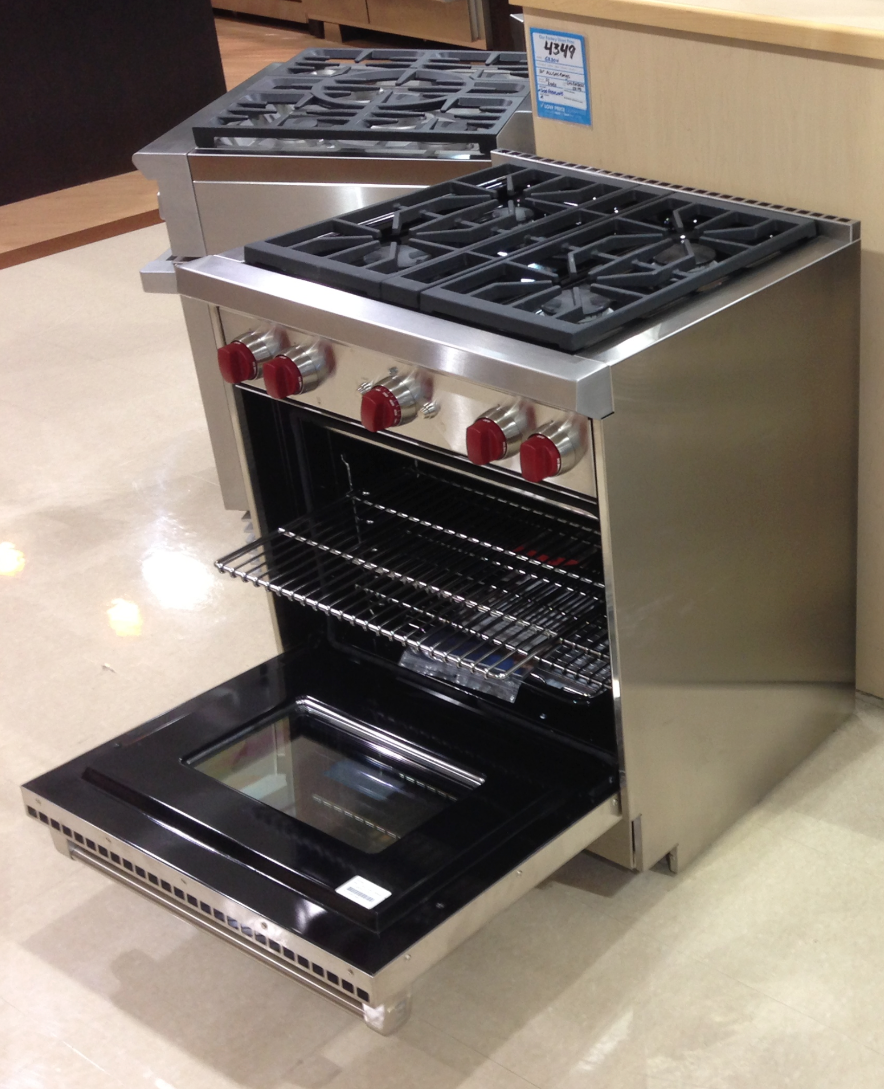 30 gas range griddle wolf 30 inch gas range is an absolute work of art kitchen