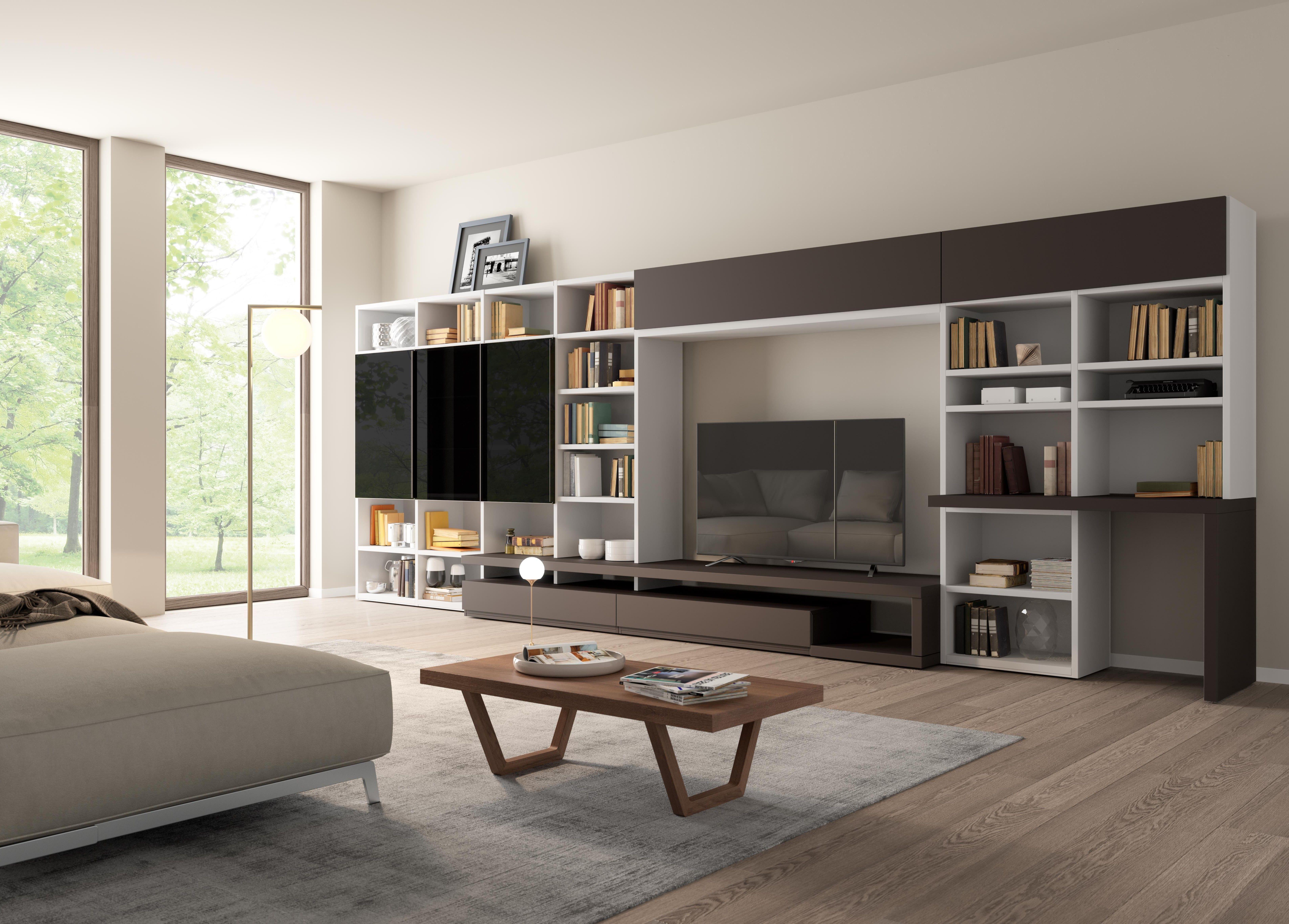 Pin di Giessegi su Living Cabina armadio, Uffici moderni