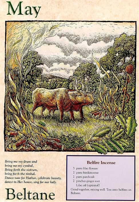 Llewllyn Witches Calendar 2000 (ISBN 1567189512).