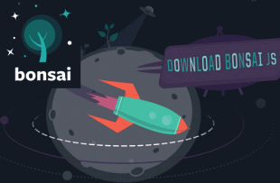 Bonsai js is a lightweight graphics library with an