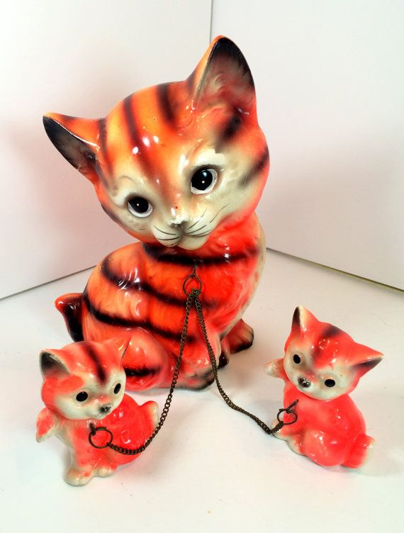 This Item Is Unavailable Mid Century Cat Cat Family Animal Figurines