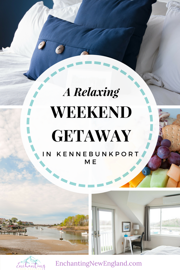 A Relaxing Weekend Getaway in Kennebunkport, ME | Enchanting New