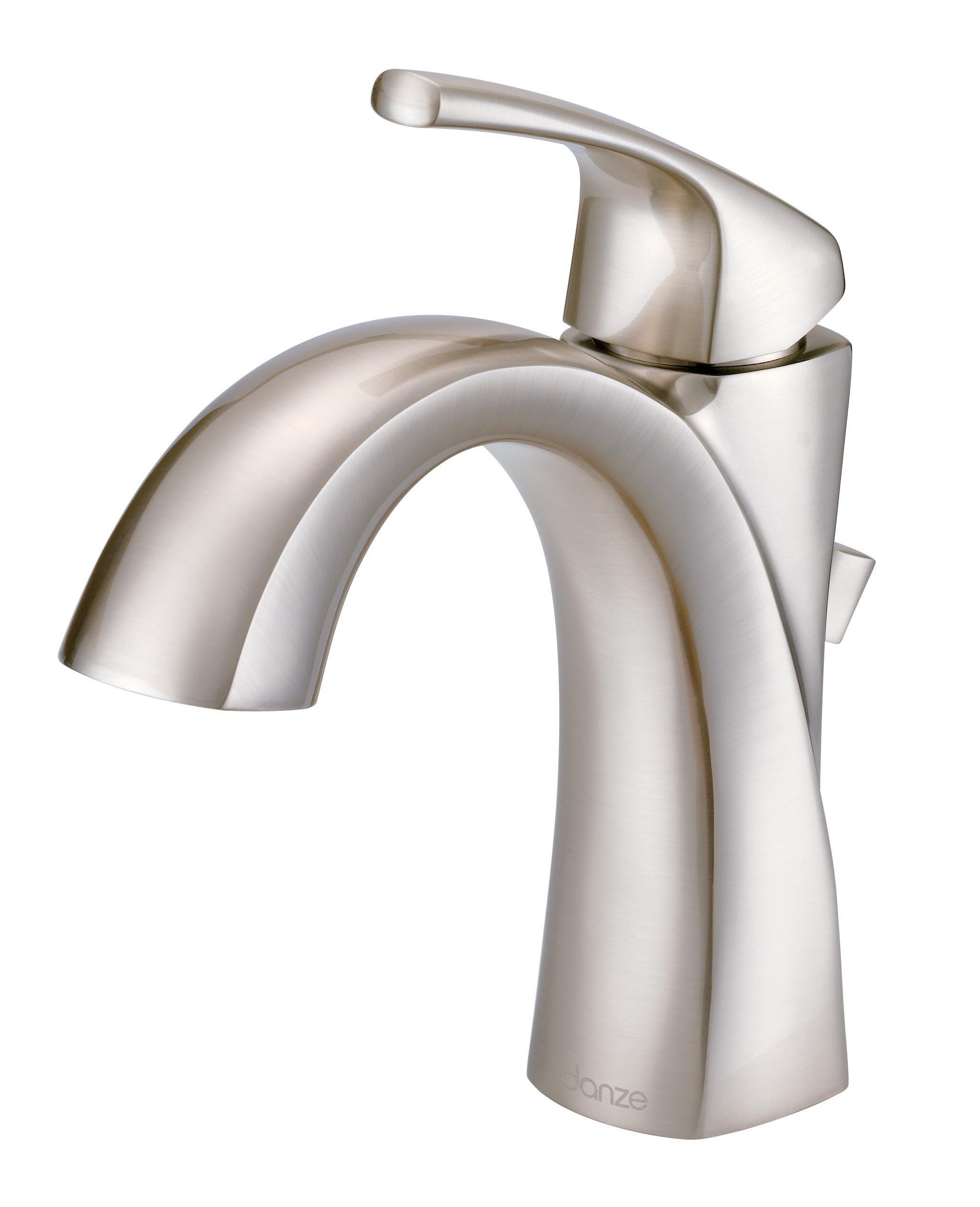 Danze D225018bn Vaughn Single Handle Bathroom Faucet Brushed