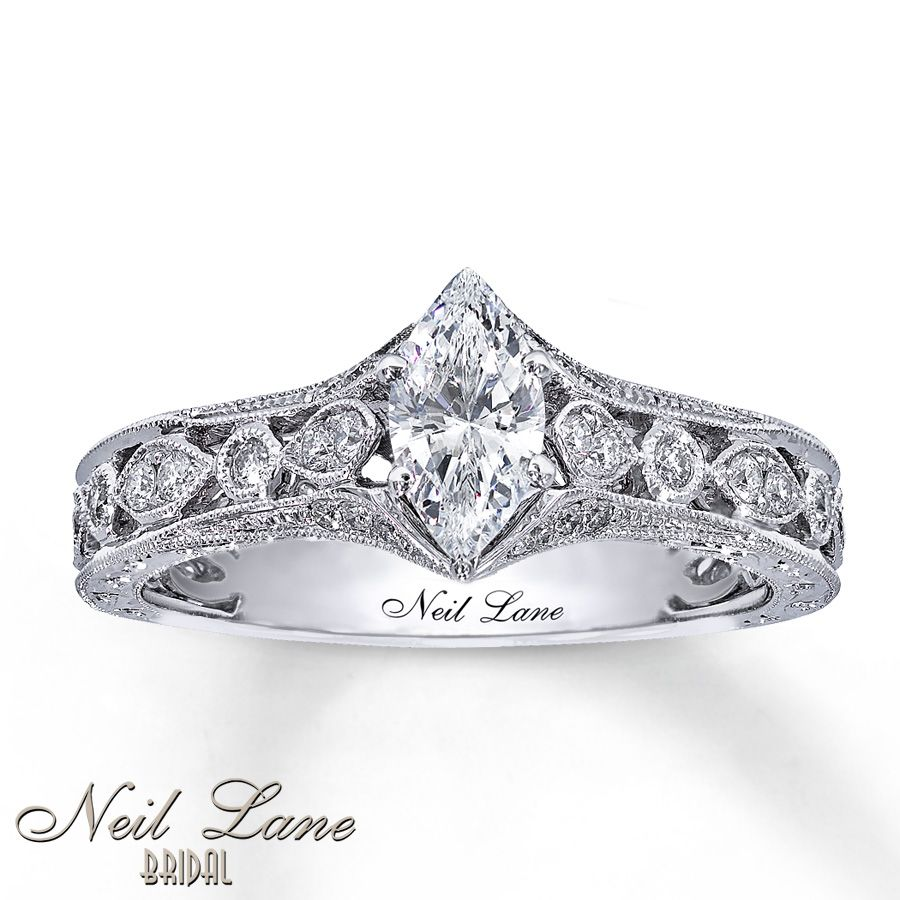 neil lane diamond ring jones jewellery white brand number product occasion marquise gold webstore l ernest engagement