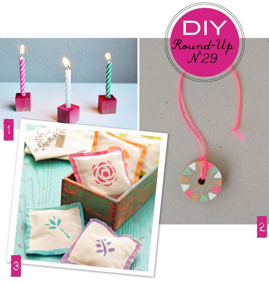 Pretty DIY project roundup