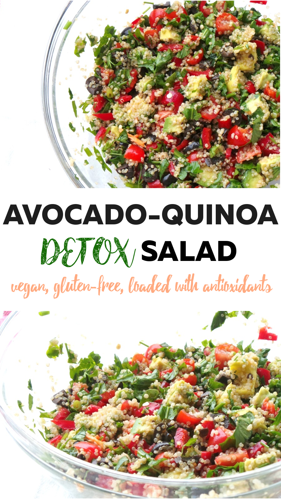 Incredible Vegan Quinoa Salad Glow From The Inside Out