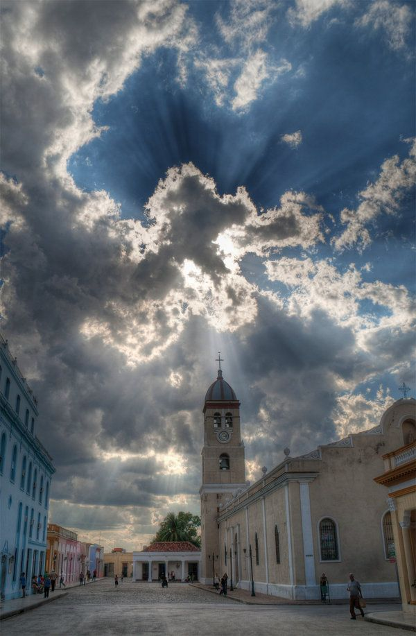 Bayamo, Cuba...My parents were married in this church and I was baptized there....