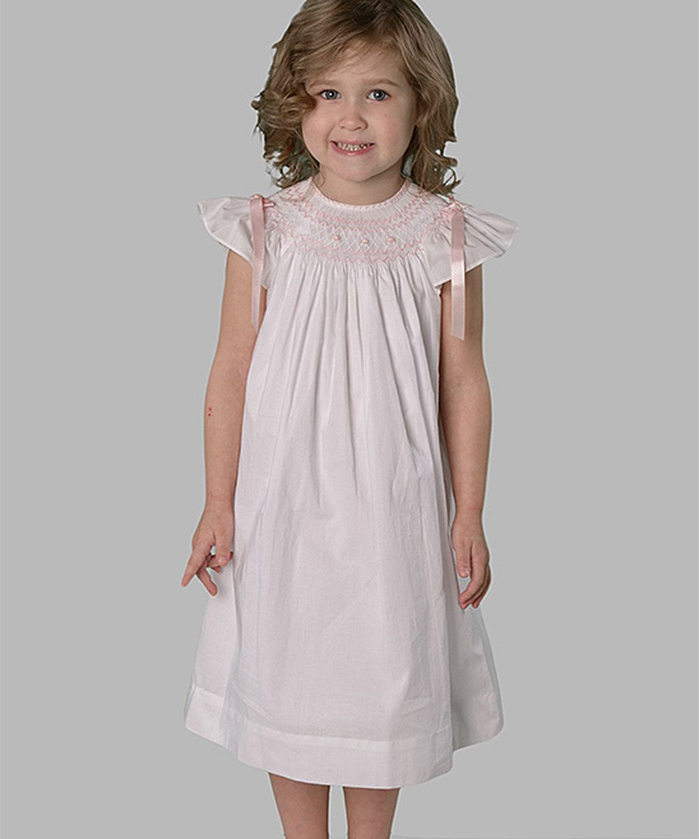 Look At This Strasburg Children White Hand Embroidered Lace Bishop