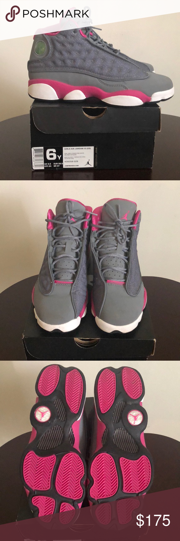 competitive price e075e c2530 Girls Jordan Retro 13 NWOT youth size 6/ is a women size 8 ...