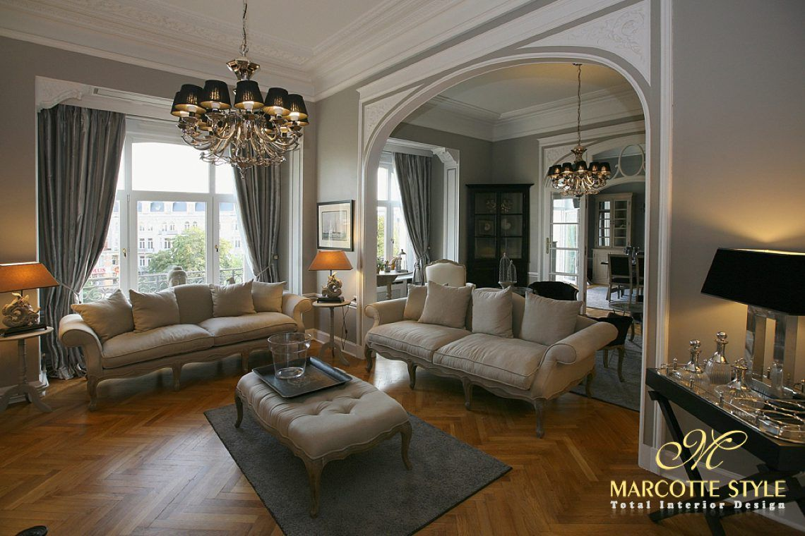 Marcotte style interieur ontwerper ambassadeur woning brussel