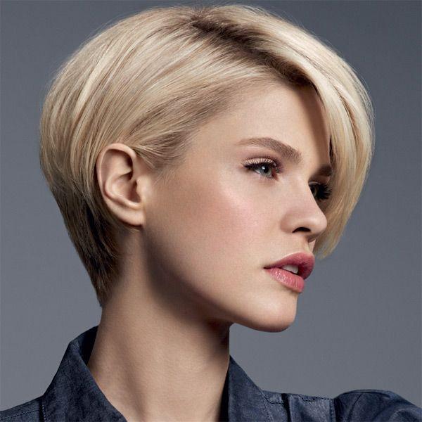tendance coiffure cheveux courts fins et raides Cheveux