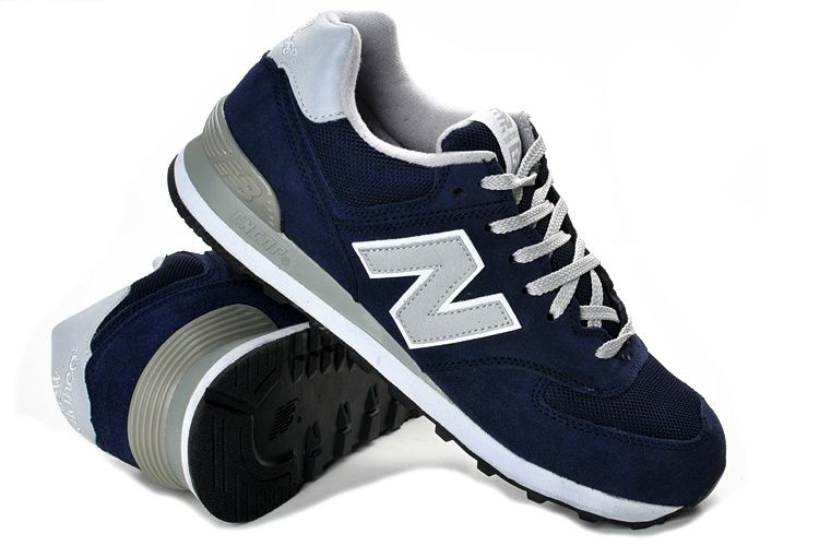 new balance 574 bleu marron