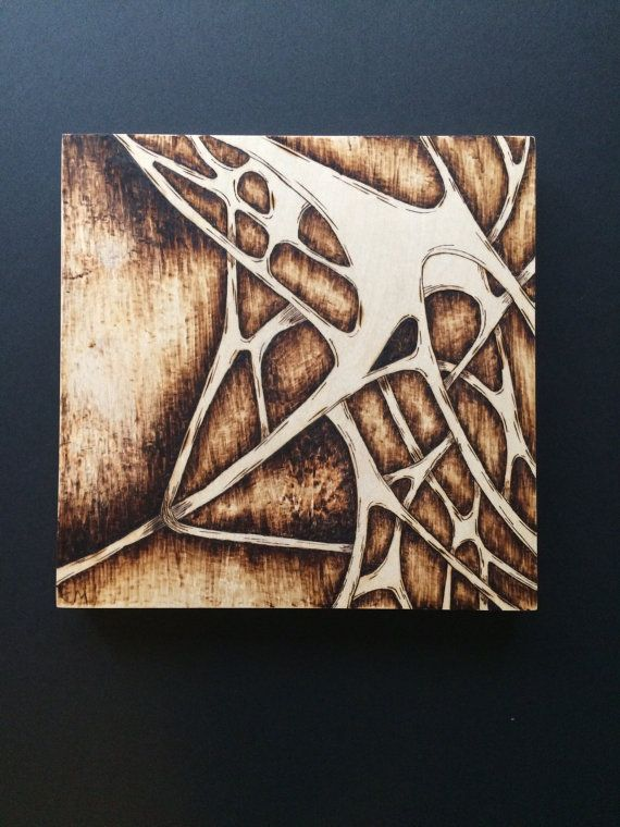 Abstract Woodburning By Hopesoars On Etsy Art Wood