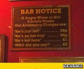 Important Bar Notice
