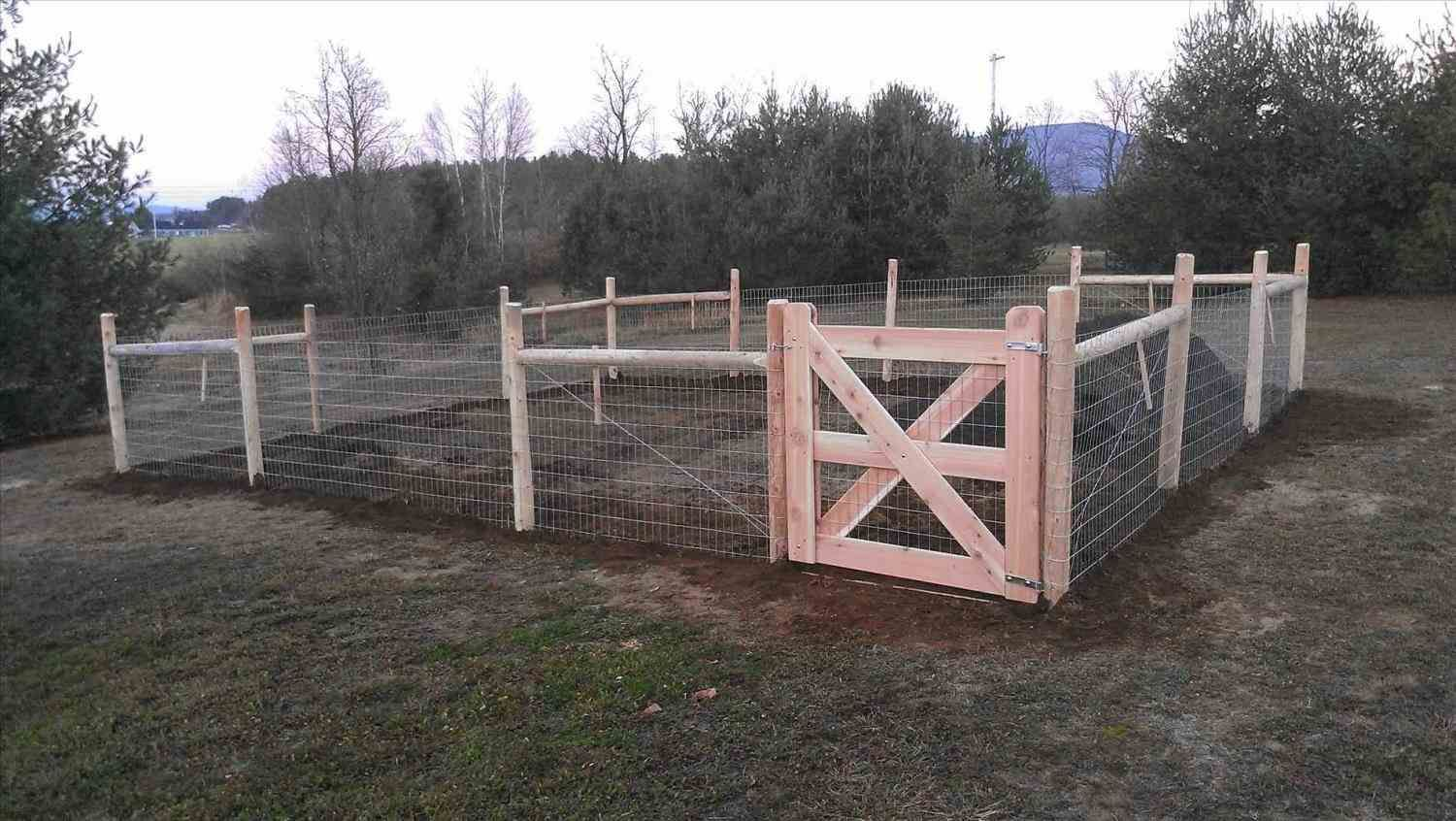 Welded Wire Fence Gate Duty Livestock Gate With X Welded Mesh Wire ...