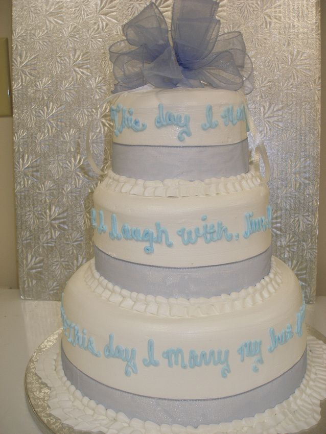 The words on this cake make every feel so much more meaningful... #wedding #cake